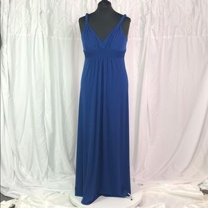 Blue Max and Cleo Maxi Dress Large